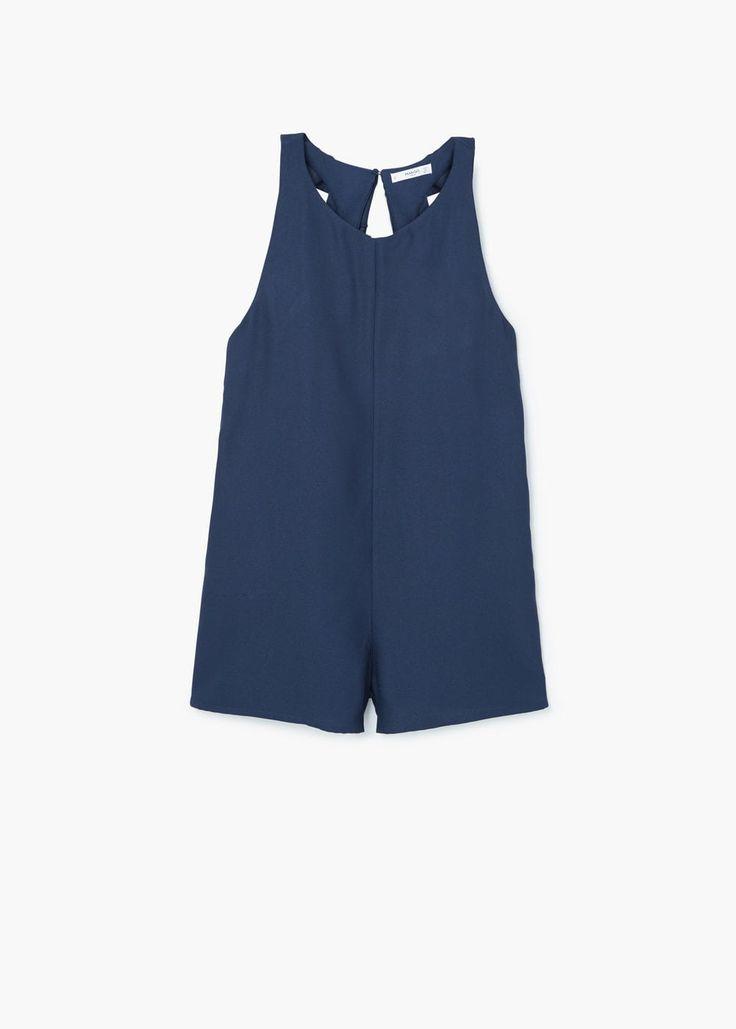 Ruffled jumpsuit | MANGO