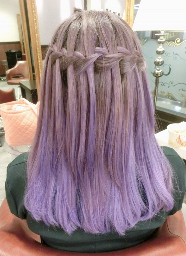Lilac Ash Blonde Braid Projects To Try Pinterest