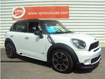 vente flash mini countryman john cooper works all4 blanc occasion toulouse bons plans auto. Black Bedroom Furniture Sets. Home Design Ideas