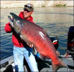 The Columbia River fishing