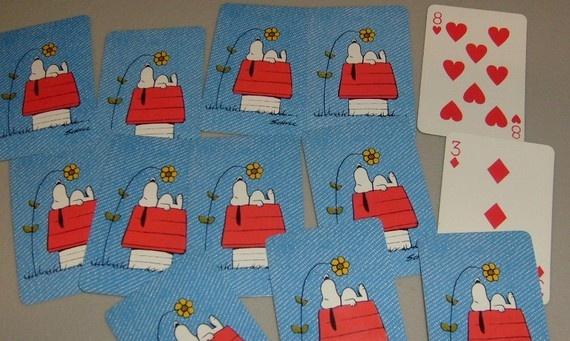 Cute snoopy cards