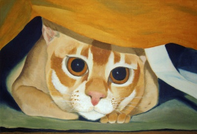 "Oil painting, ""Ambusher"""