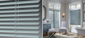 "Celebrity® Our 1"" Celebrity® blinds are an economically practical choice and offered in a wide selection of colors. A beveled headrail is standard for a clean, traditional look."