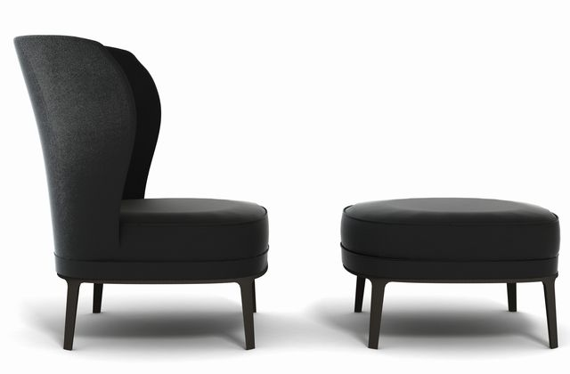 Spring chair // Benhardt & Vella for Potocco