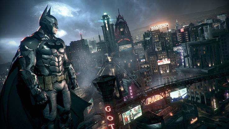 """Bruce Wayne takes the Dark Knight concept literally in this official trailer for the """"Batman Arkham Knight"""" #videogame. #gaming"""