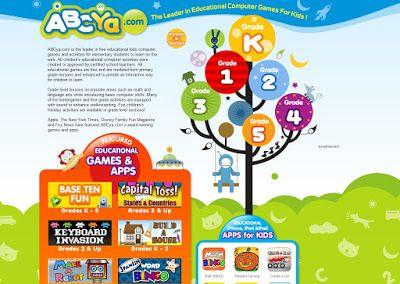 Genial portal de actividades en Inglés dirigido tanto a E. Infantil como E. Primaria