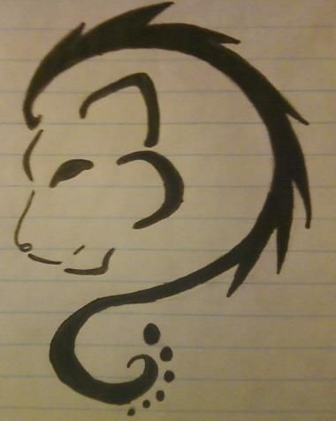 tribal leo lion tattoo design (even has leo zodiac symbol)!!!