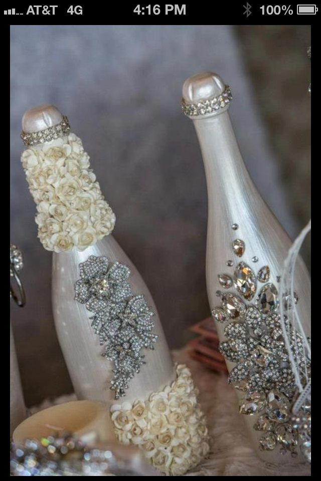 17 best images about blinged bottles on pinterest