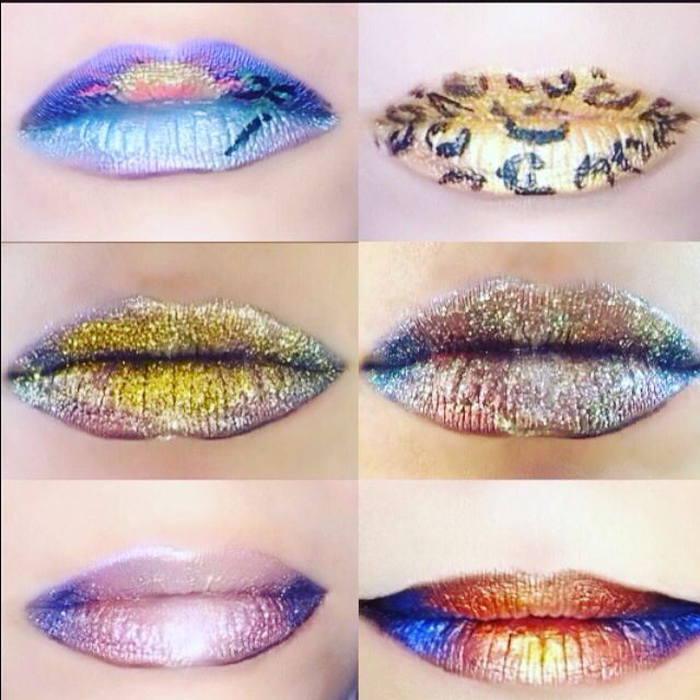 Labios fantasia en the Makeup Art Studio #lips #lipstick