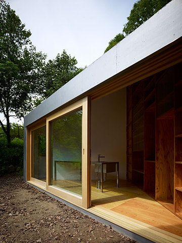 can I have sliding doors like this please?