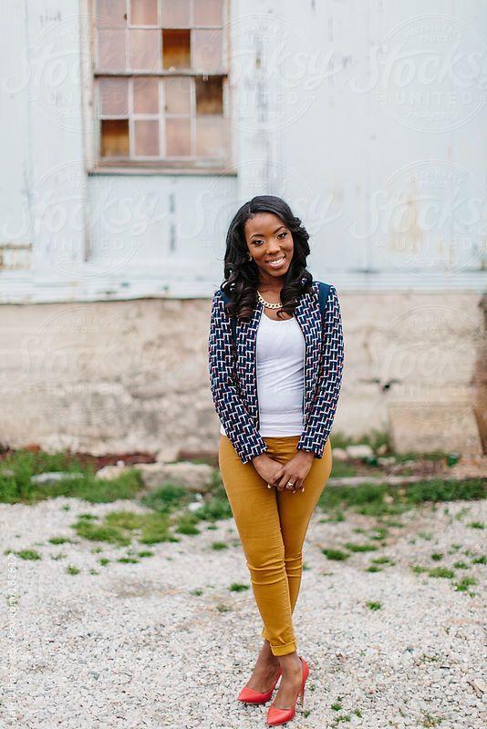 Beautiful African American Woman By Jakob Foto People
