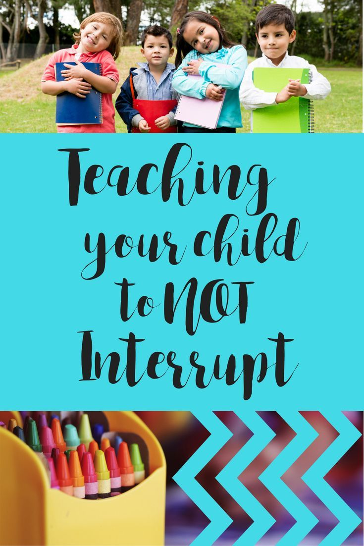 Good Manners- teaching a child to NOT interrupt - Simply Happy Mama