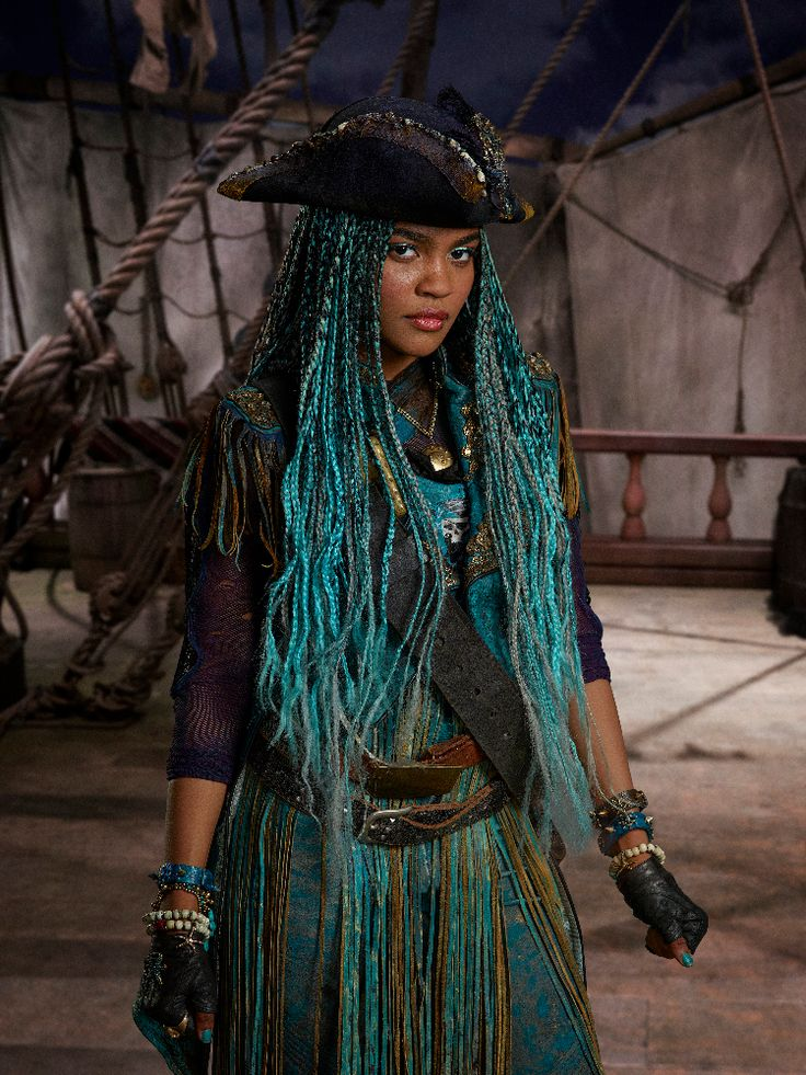 Uma is a character and antagonist who will appear in the upcoming sequel Descendants 2. She is the daughter of Ursula. Trivia China Anne McClain, who will portray Uma, is known for providing the voice of Freddie Facilier, daughter of Dr. Facilier, in the animated short series Descendants: Wicked World.