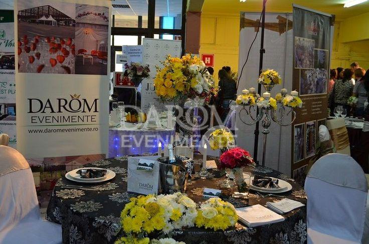 Participarea Darom Evenimente la Targul de nunti.