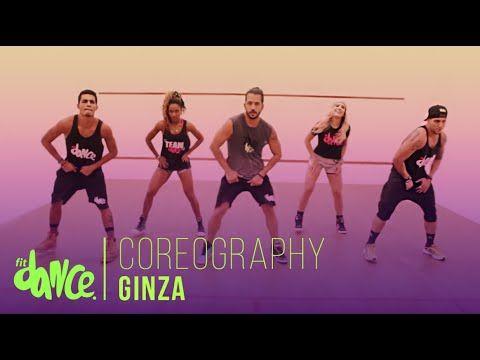 Ginza - J. Balvin ft. Anitta - Coreografía | FitDance - YouTube