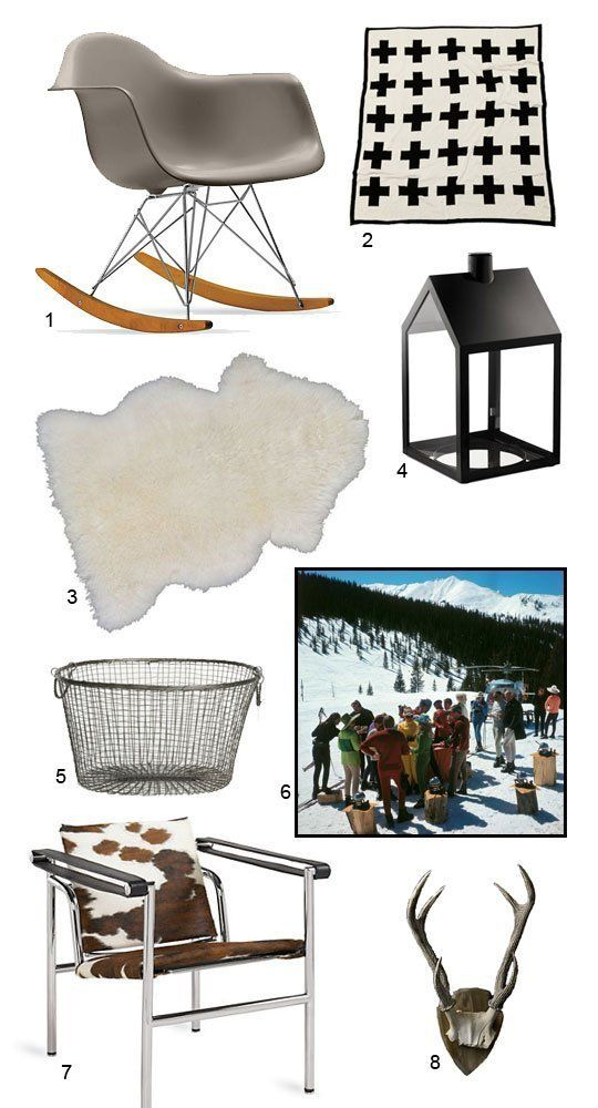 Get the Look: Modern Ski Chalet Shoppers Guide | Apartment Therapy