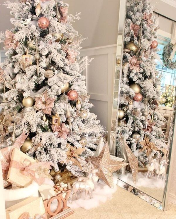 96 Fabulous Christmas Tree Decoration Ideas 2020 Pouted Com Christmas Tree Inspiration Gold Christmas Decorations Pink Christmas Tree Decorations