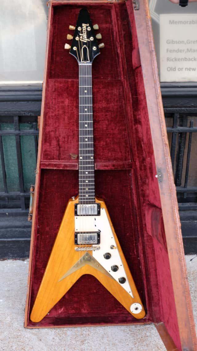 Gibson 1958 Korina Flying V 1958 Natural