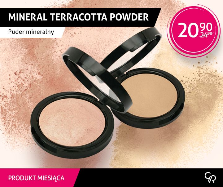 Wrześniowy produkt miesiąca  - Mineral Terracotta Powder.