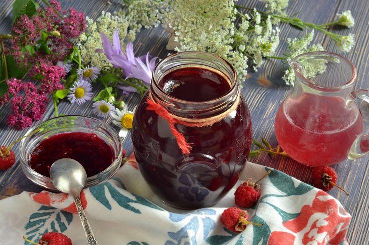 Желе из малины на зиму. Пошаговый рецепт с фото - Ботаничка.ru
