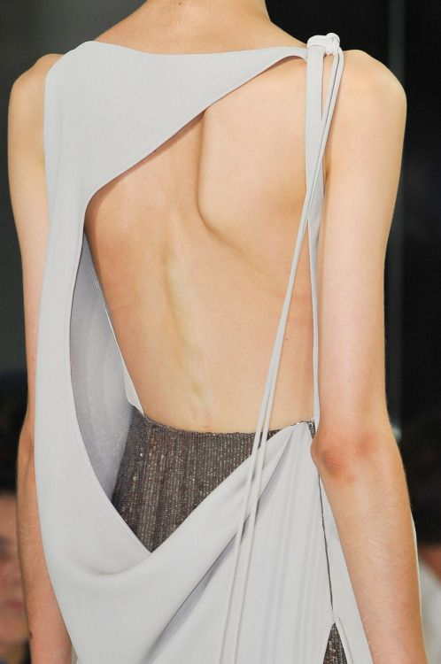 oncethingslookup:  Ralph Rucci Spring 2015 RTW