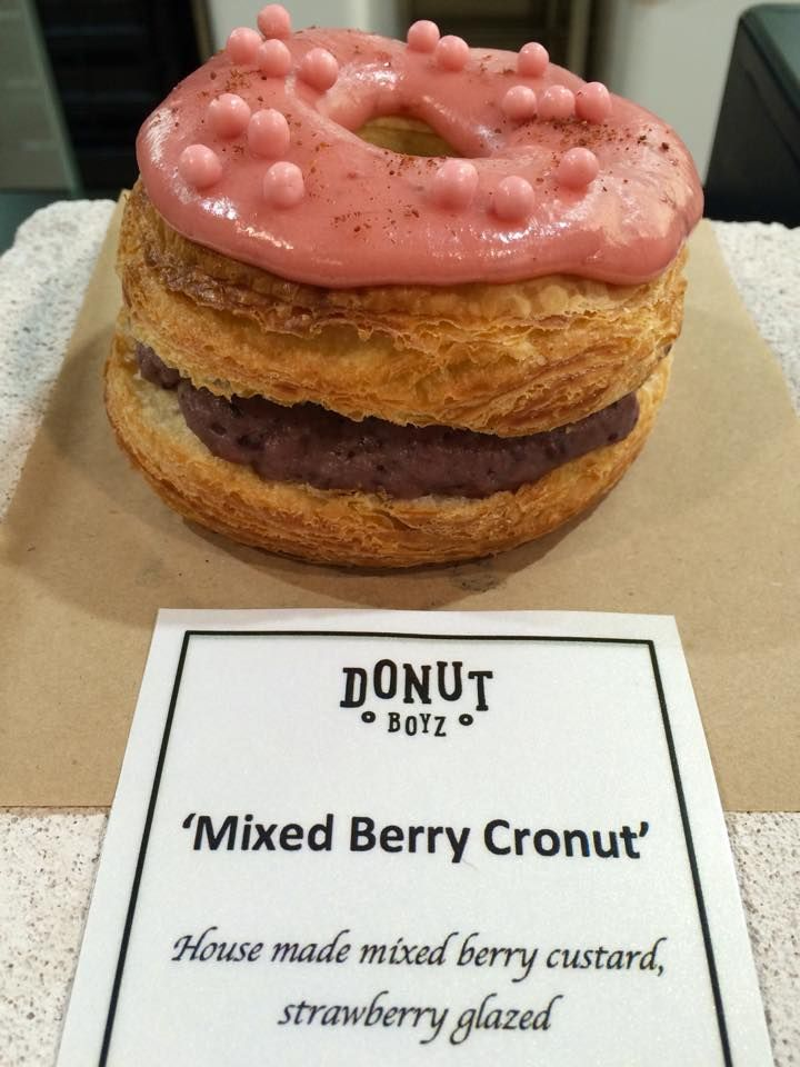 The Cronut the Motherload.
