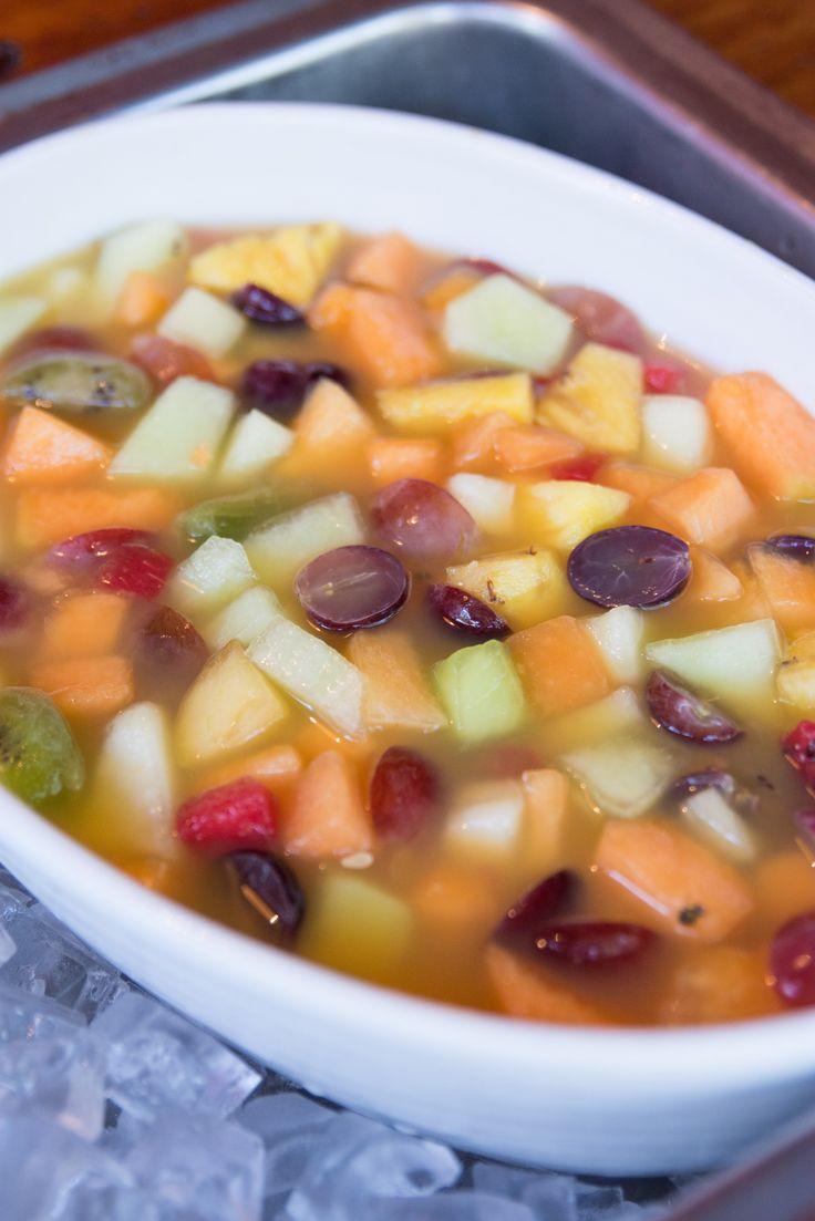 Fruit salad for breakfast. #SefapaneMagic