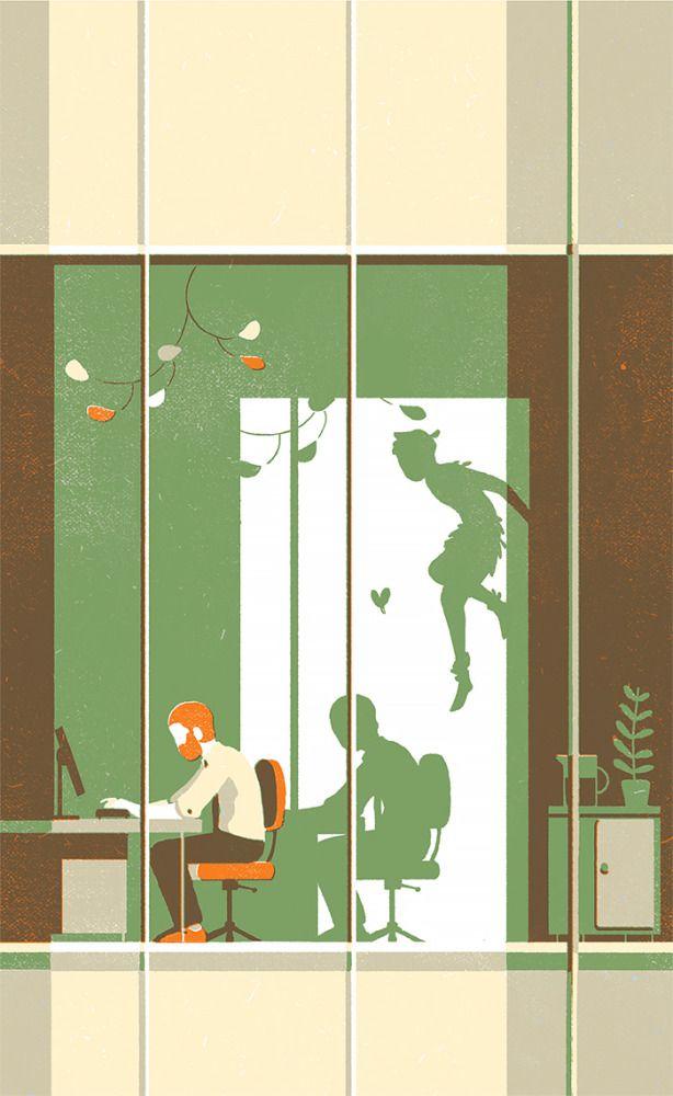 Illustrations by Tom Haugomat.