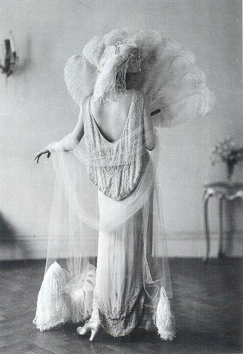 1922 Irene Castle models French designer Vionnet