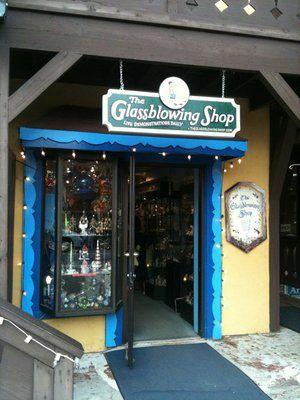 Glassblowing Shop - Helen, Georgia