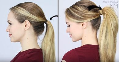 BeforeandAfterPonytail | Brilliant Tricks to Give Your Ponytail Extra Volume in Less Than 5 Minutes
