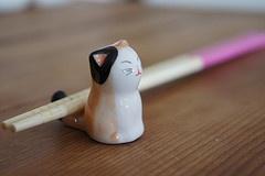 neko hashioki(chopstick rest)