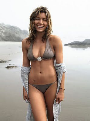 Jessica Biel.  Love her body.