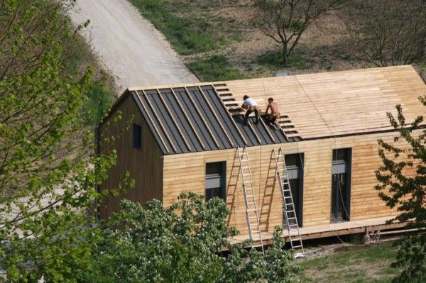 bardage toiture bois recherche google house maison inspiration ext rieur int rieur pinterest. Black Bedroom Furniture Sets. Home Design Ideas