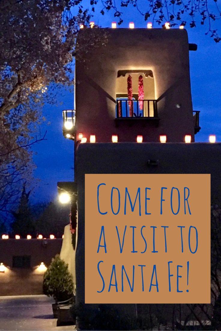Santa Fe weather, Santa Fe New Mexico elevation, Population of Santa Fe NM, Santa Fe hotels near plaza