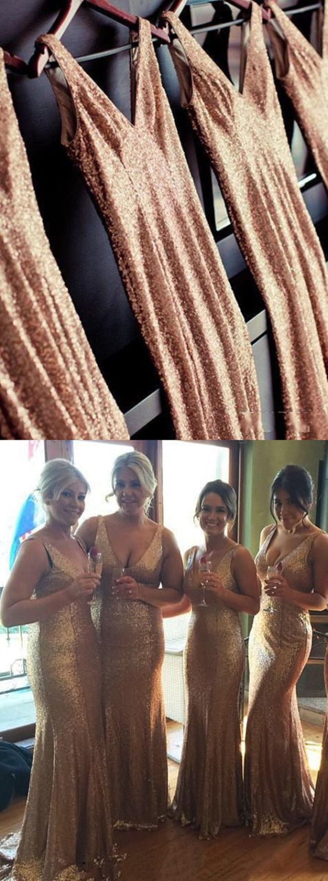 long bridesmaid dresses,sequins bridesmaid dresses,gold bridesmaid dresses,cheap bridesmaid dresses @simpledress2480