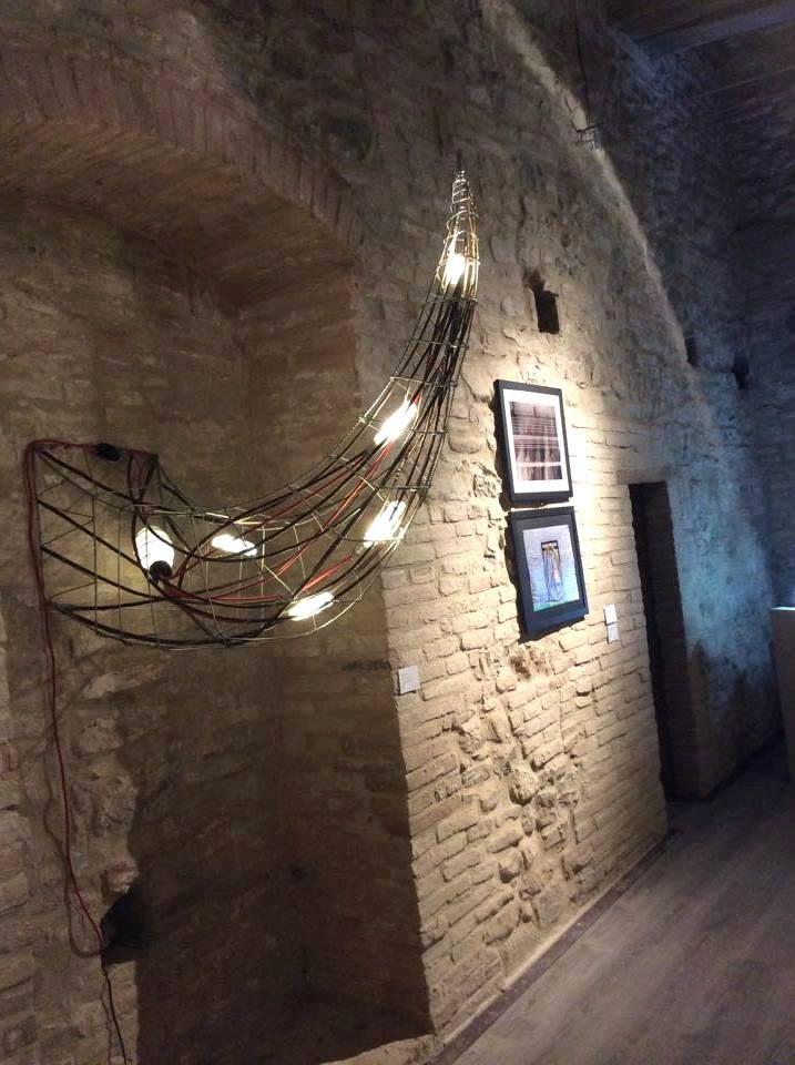 """""""Hostile"""" in mostra al Premio Roberto Zambelli, Torre Strozzi , Parlesca (PG)"""