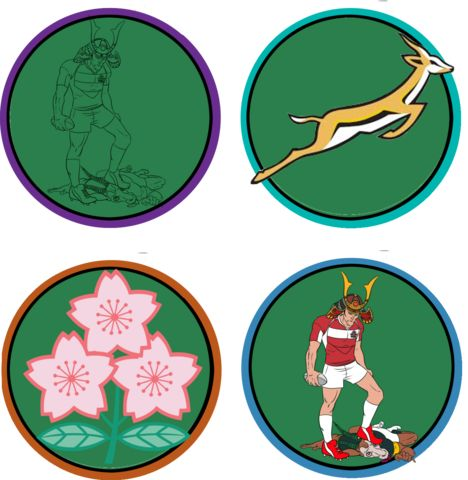 Japan Rugby Football Union Also know as The Cherry Blossoms / Brave Blossoms The emblem Sakura #JapanRugbyFootballUnion #JapaneseRugby #TheCherryBlossoms #BraveBlossoms #Sakura