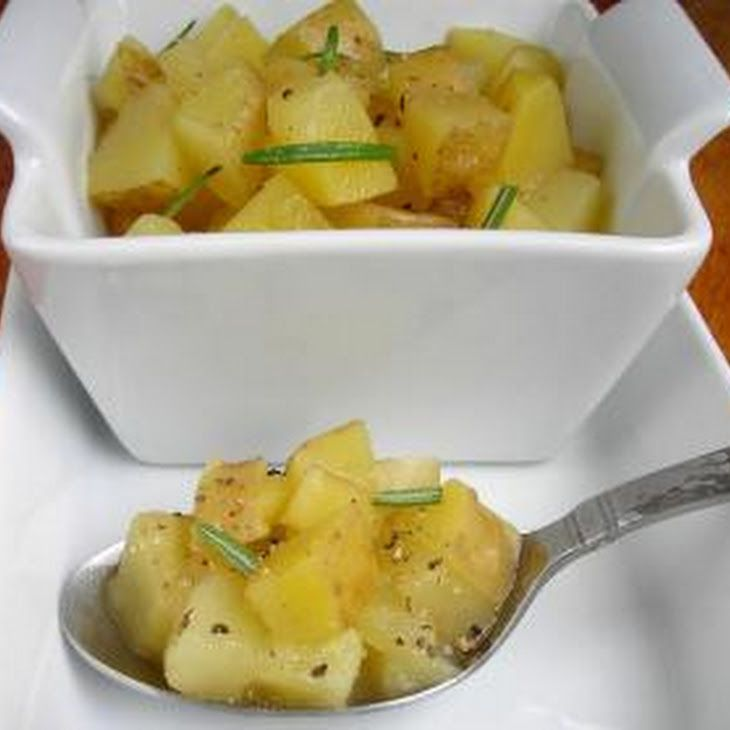 Boozy 'Taters or Marsala Wine Potatoes Side Recipe Side Dishes with potatoes, marsala wine, rosemary, olive oil, salt, pepper