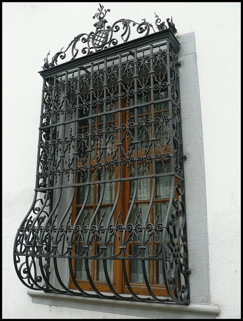 Wrought Iron Window Grill on Pinterest   Wrought Iron, Window and ...