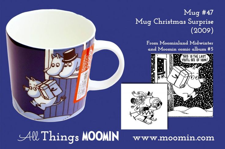 47 Moomin mug Christmas Surprise