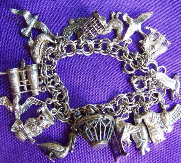 1950's Atomic Ranch House: Do You Collect - Vintage Charm Bracelets?