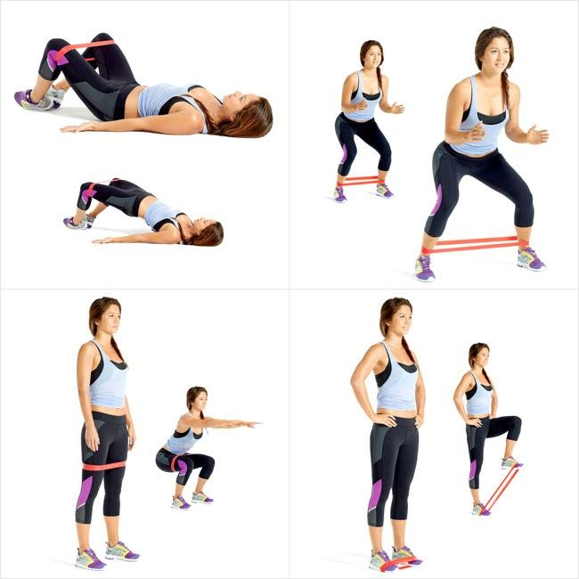 mini resistance band exercises | Exercise Bands (Mini-Bands) Level 2 - The Treadmill ...