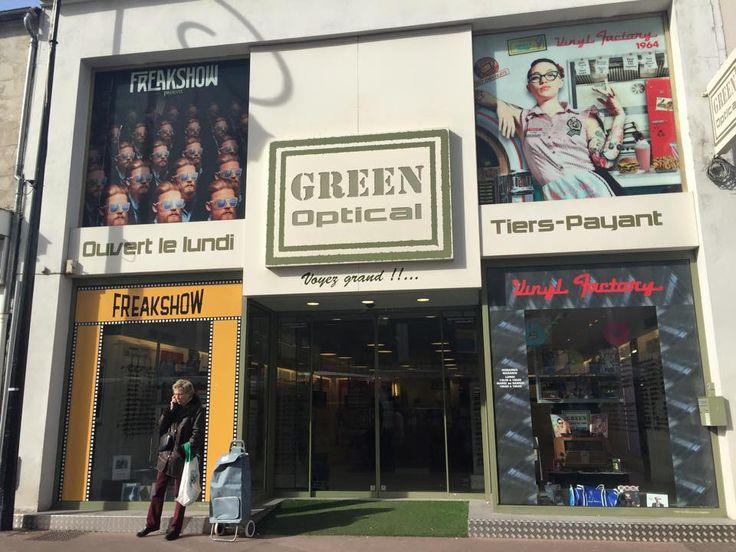 Foncez chez #GreenOptical découvrir les collections de #FreakShow et #VinylFactory