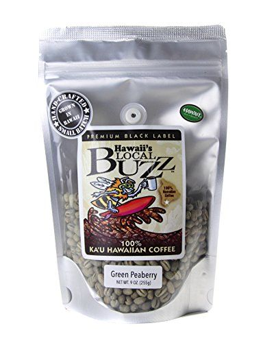 Hawaii S Local Buzz Premium Black Label Peaberry Green Unroasted Beans 9 Ounce Find Out More At The Image Link