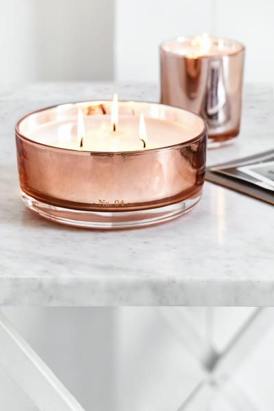 Copper and candles. Two of our favourite things.