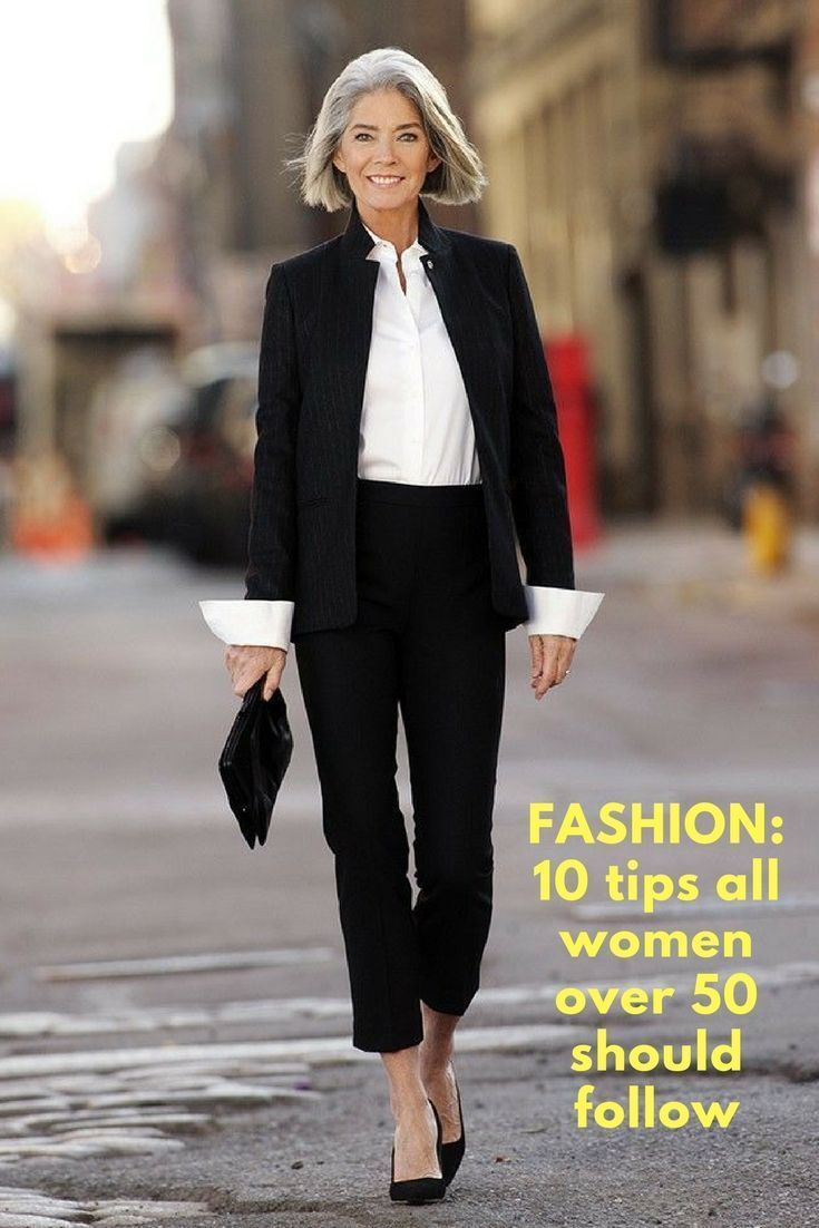 Fashion 10 Tips All Women Over 50 Should Follow Trendy Trending Clothes Fashion Women 50 Oldwoman Old Tips Fashion Over 60 Fashion 60 Fashion