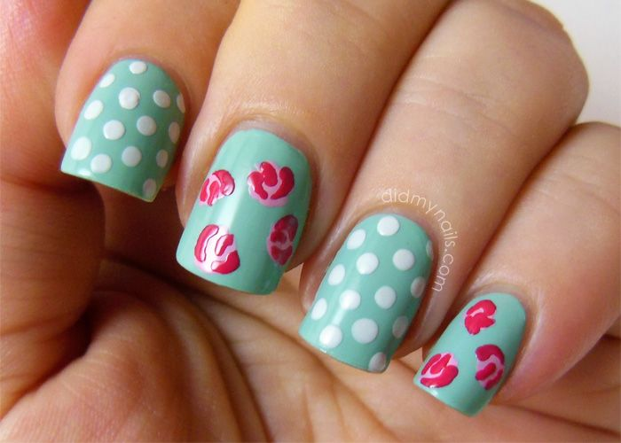 25 gorgeous vintage rose nails ideas on pinterest rose nail vintage rose nail art tutorial prinsesfo Gallery