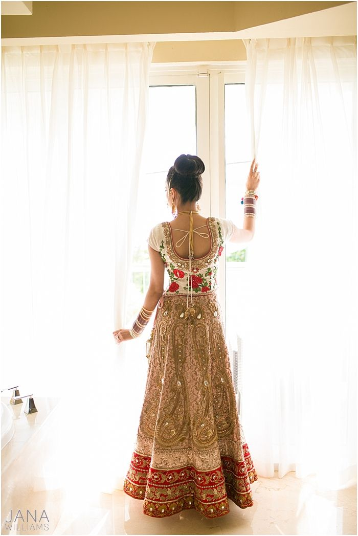 Anarkali lengha bridal lehenga indian fusion for Indian fusion wedding dress