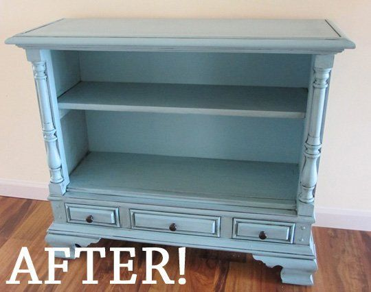 Before & After: From Console TV to Console Table